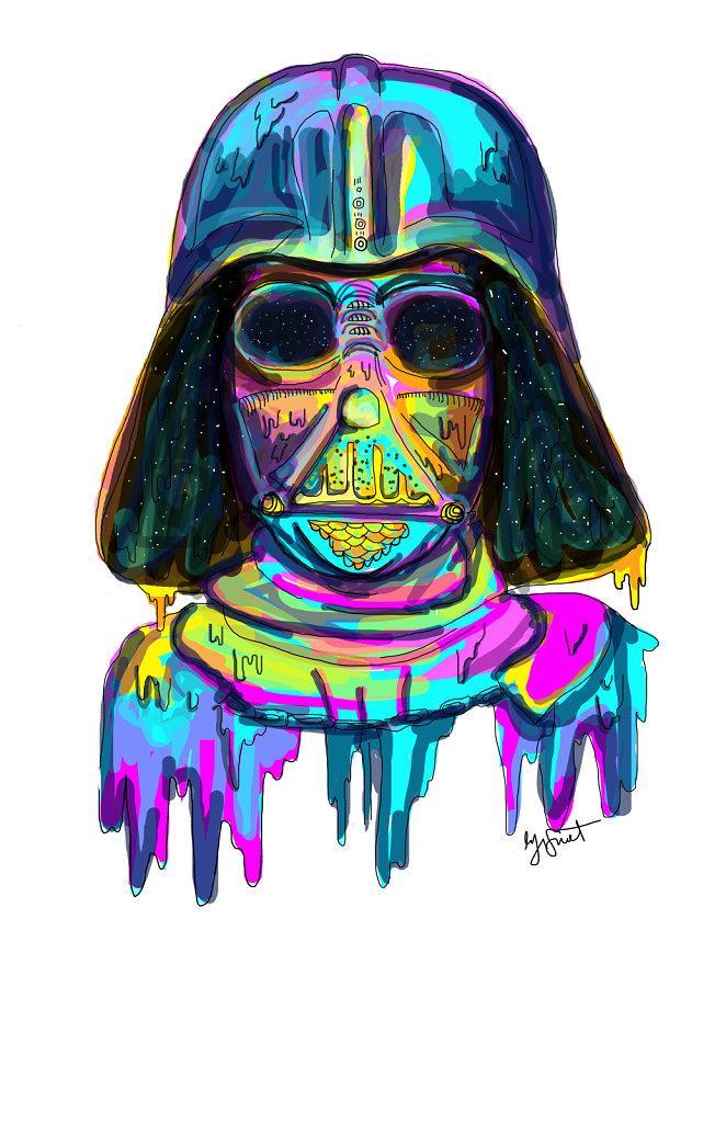 Trippy Darth Vader